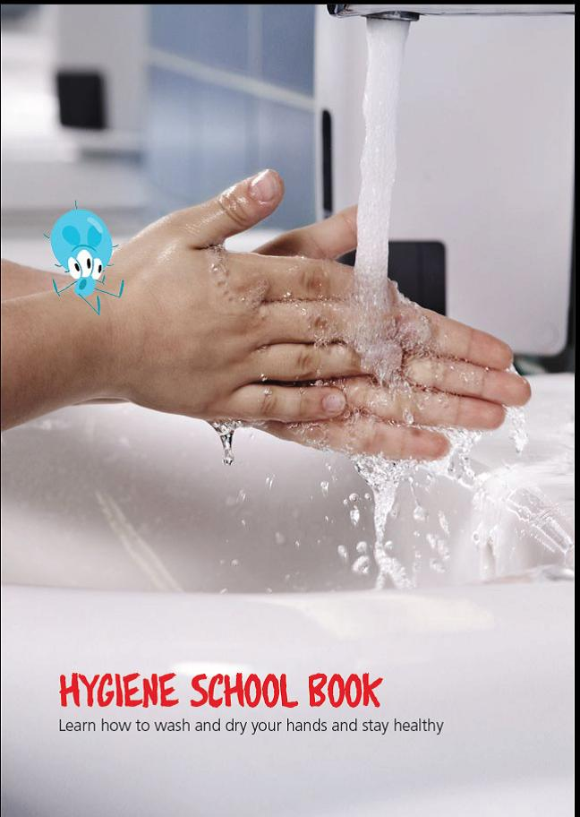 New booklet on the importance of hand hygiene in schools